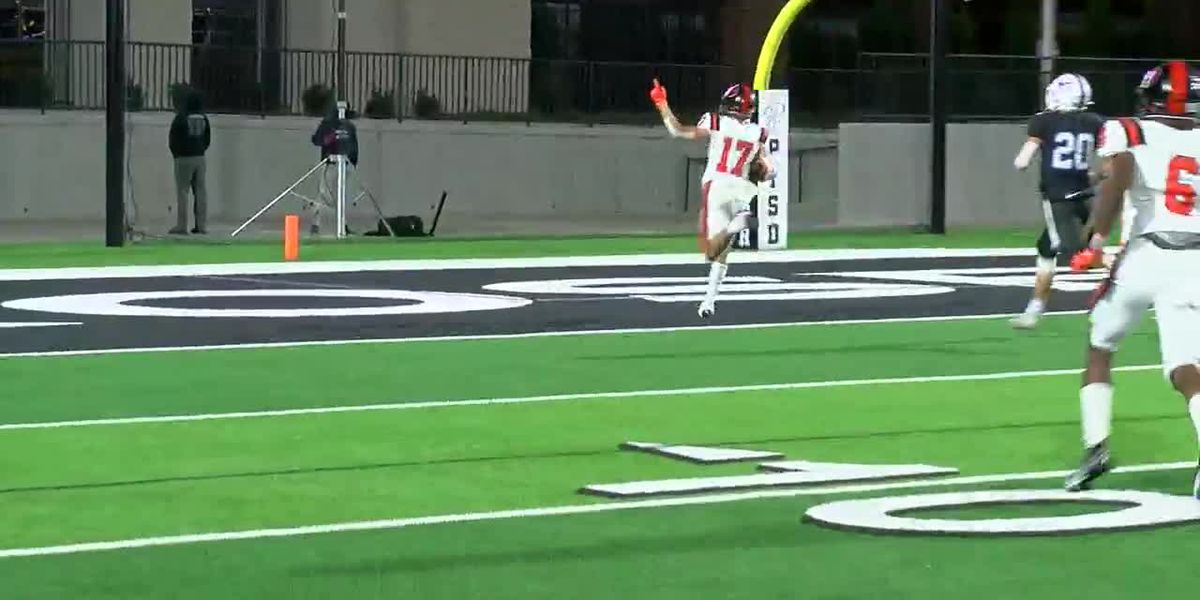 WATCH: Gilmer takes punt back 96 yards for score