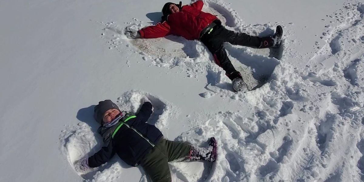 East Texans share snow day photos