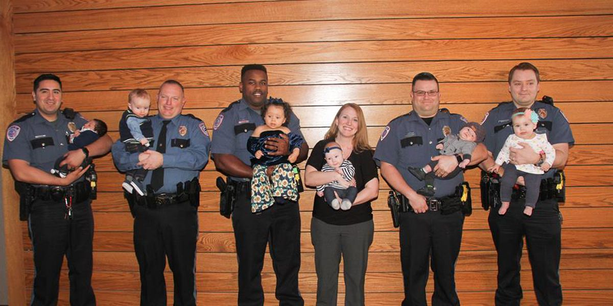 """Lufkin Police Department experiences """"baby boom"""""""