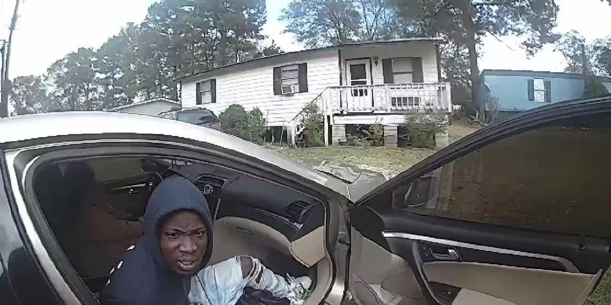 WATCH: Lufkin police release bodycam video from Tuesday foot chase