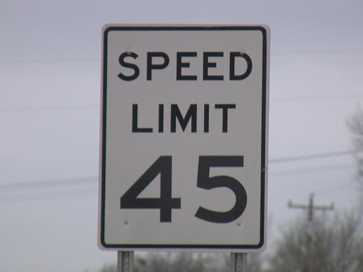 Lower speed limits approved on certain roads in three East Texas counties