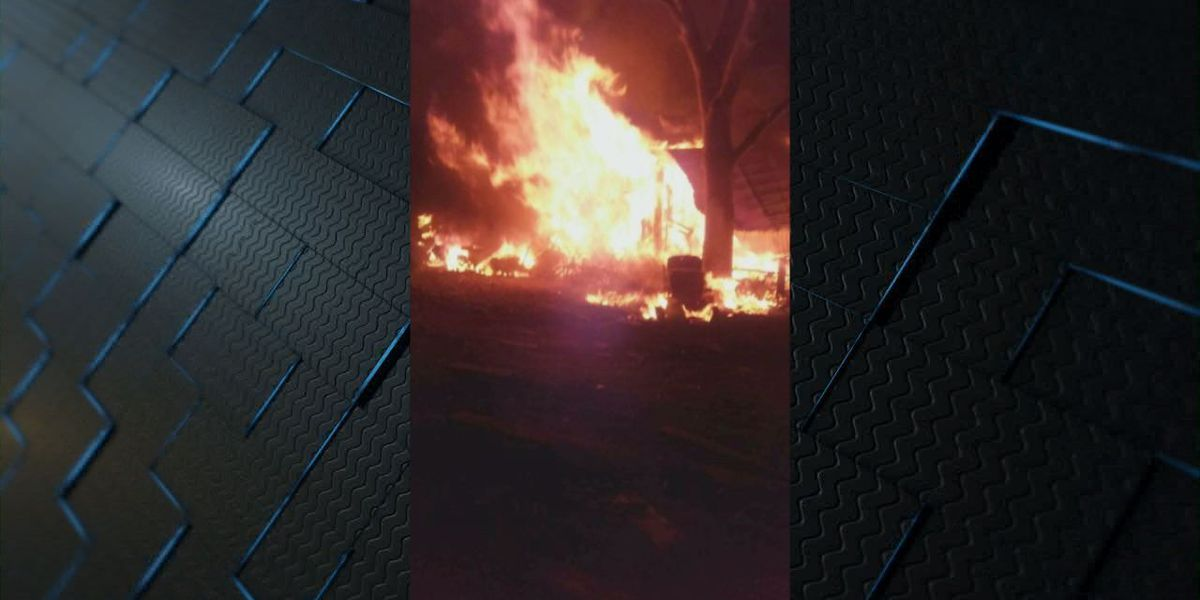 Corrigan trailer home fire leaves family displaced for New Years