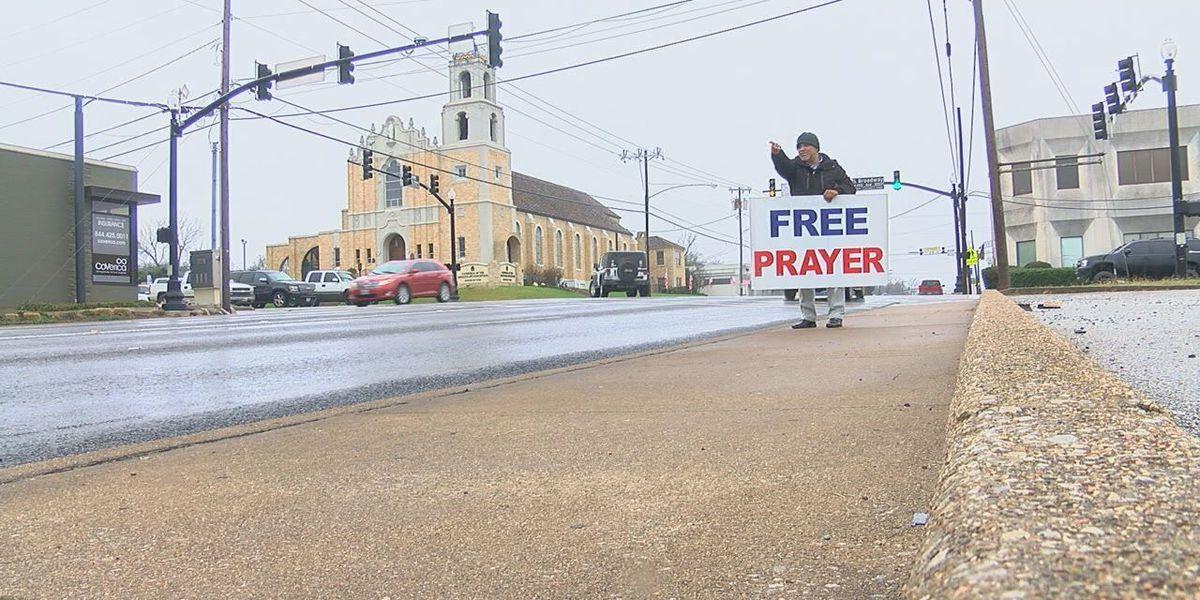 Power of Prayer: 'Free Prayer' in downtown Tyler