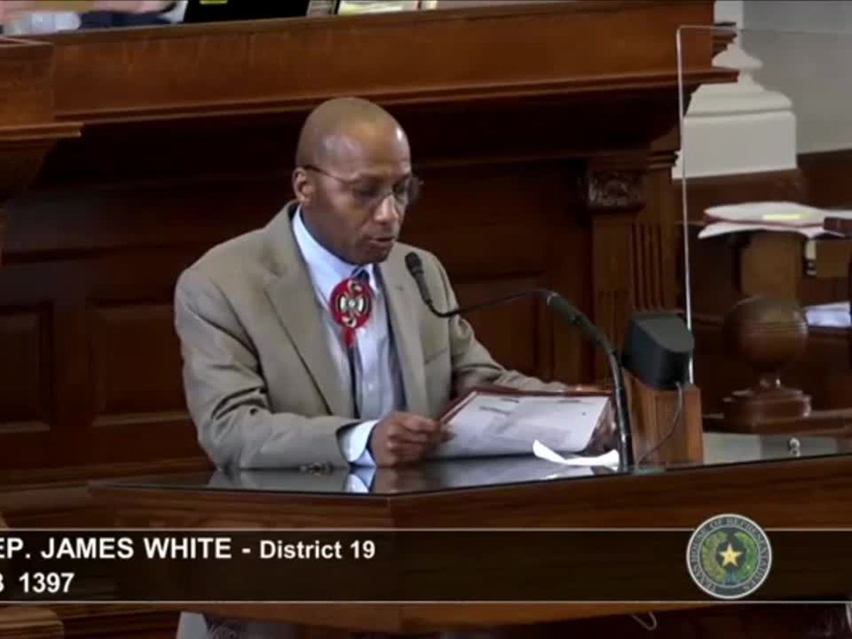 Rep. White bill requiring transparency on voting devices passes in prelim House vote