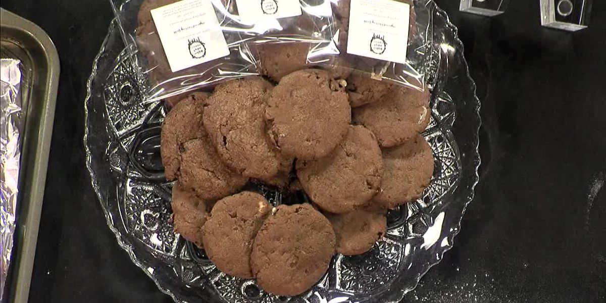 Mexican Hot Chocolate cookies by 'Nothing Vanilla Cookies'