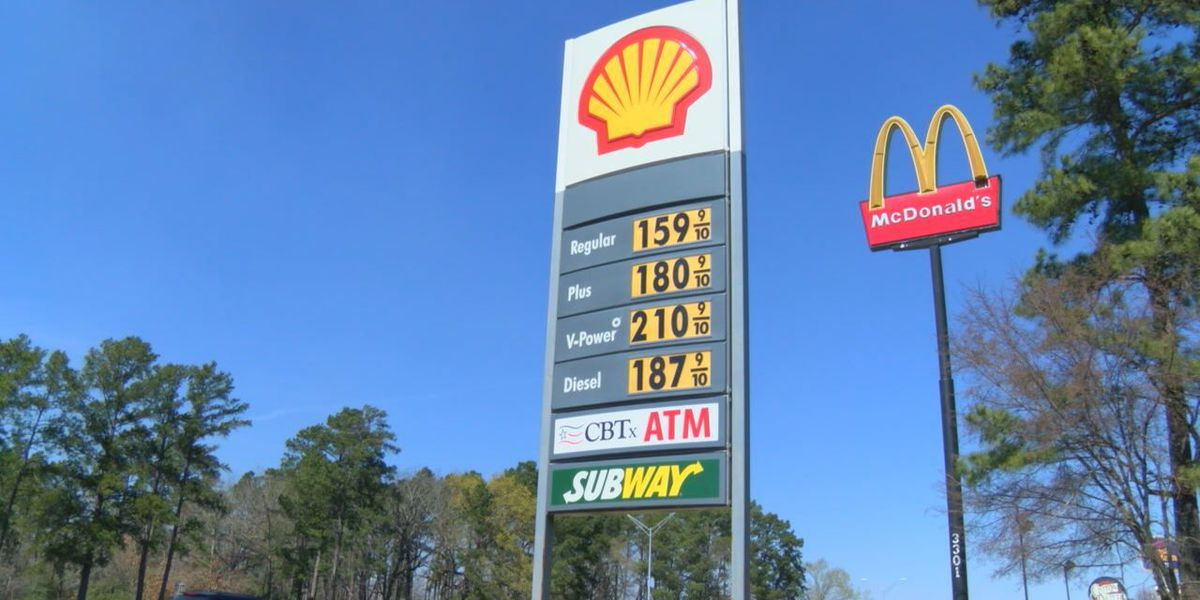 Gas Prices In Texas >> Gas Prices Continue To Drop In East Texas But For How Long