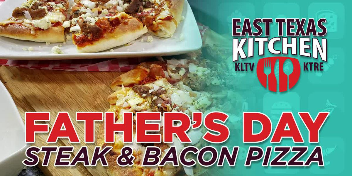 VIDEO: Father's Day steak and bacon pizza by Mama Steph