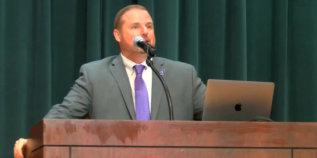 WEBXTRA: New SFA president delivers first State of the University address