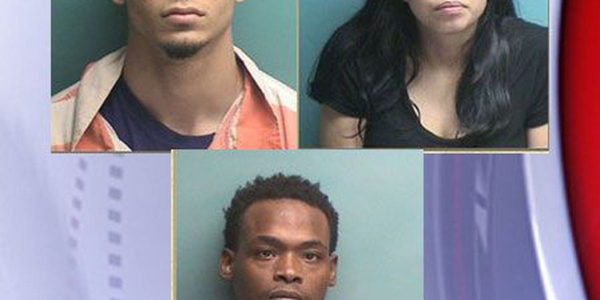 Nacogdoches County Sheriff's Office traffic stop results in 5 felony drug arrests