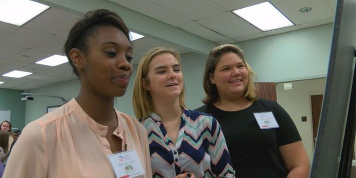 Lufkin, Groveton high school students learn about health careers at SFA