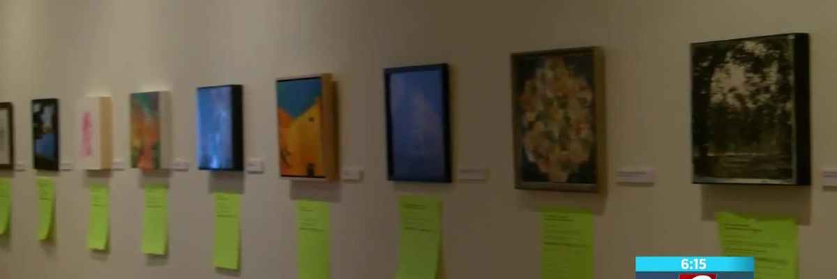 Unique 12 x 12 Art Show to raise scholarship money for SFA art students