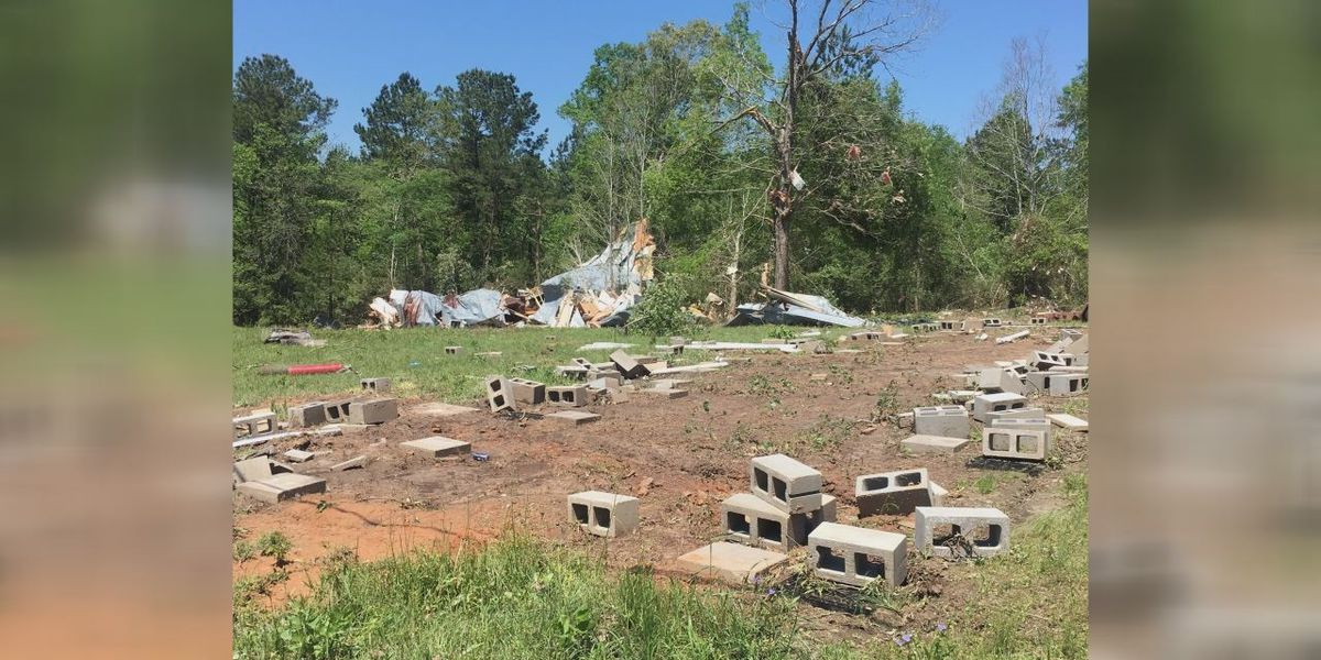 Storm survivors whose home was ripped off of the ground share their story