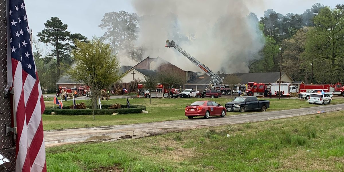 Emergency crews respond to church fire in Polk County