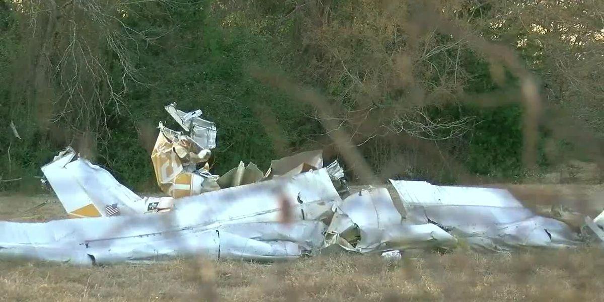 Federal agency begins examining plane wreckage in Cherokee County