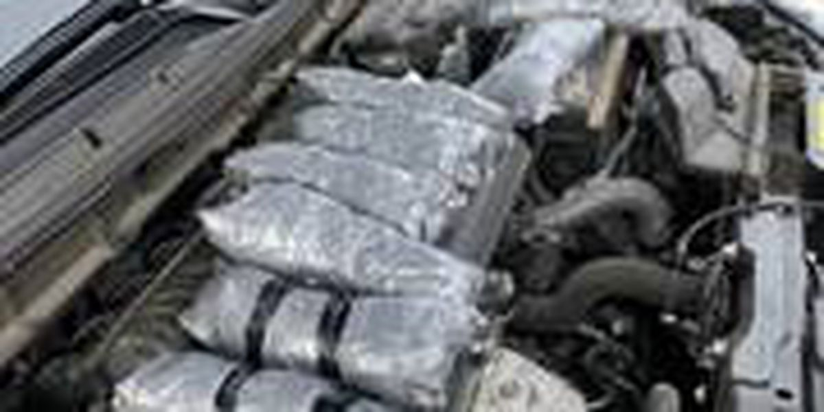 DPS: 2 arrested after trooper discovers 9 pounds of meth inside stolen vehicle