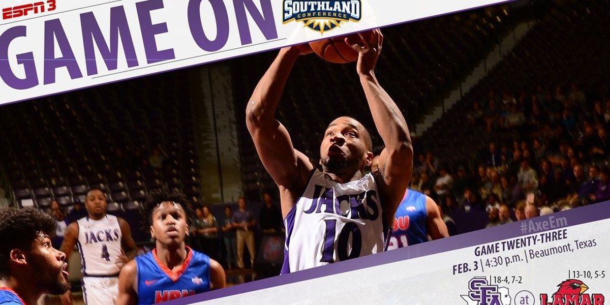 SFA heads south to Beaumont for battle with Lamar on Saturday