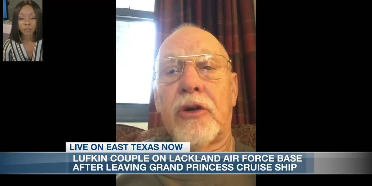 ETN: Lufkin man who was on cruise ship exposed to coronavirus speaks from quarantine