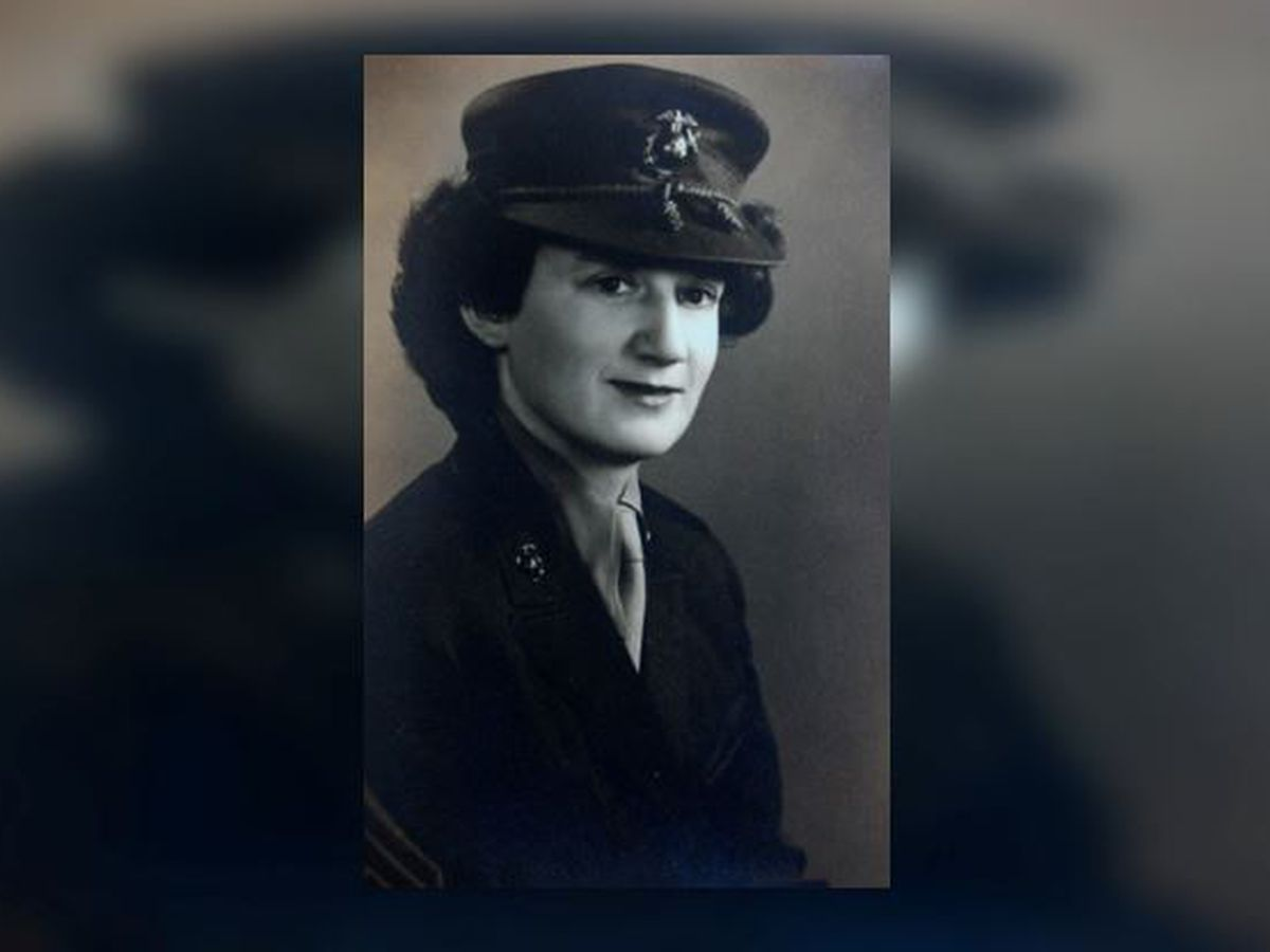 Dorothy Schmidt Cole, oldest living Marine, dies at 107