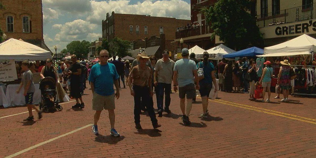 Demonstration classes teach new skills at Nacogdoches' Blueberry Festival