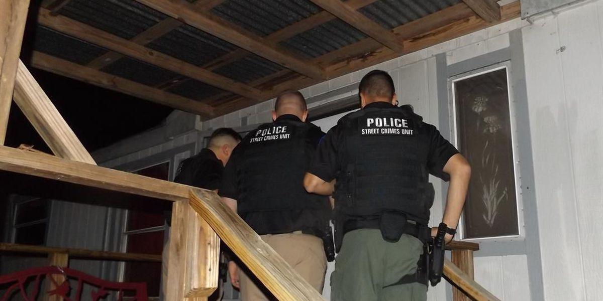 Drug raid at Hudson trailer park results in 2 felony drug arrests, seizure of meth, weed