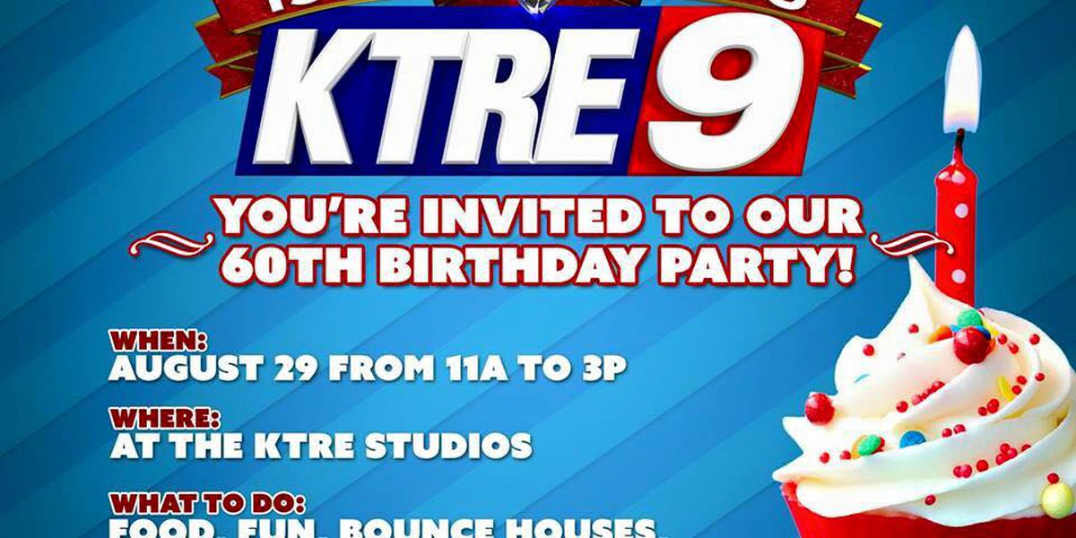 KTRE-TV celebrates 60 years of broadcasting with birthday party