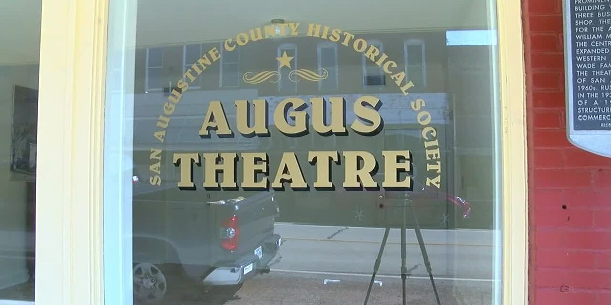 Mark in Texas History: Augus Theater