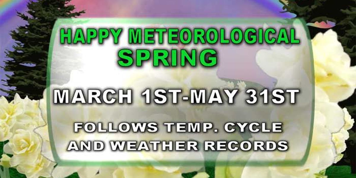 Clarifying the difference between meteorological and astronomical spring