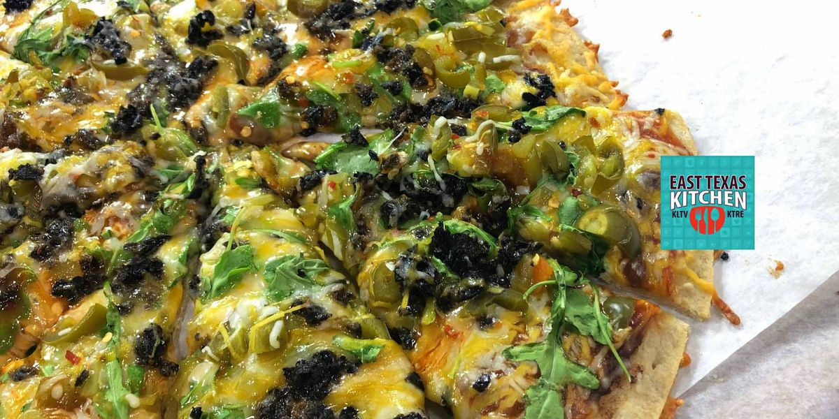 Dinner in 10: Thin crust Southwestern pizza by Mama Steph