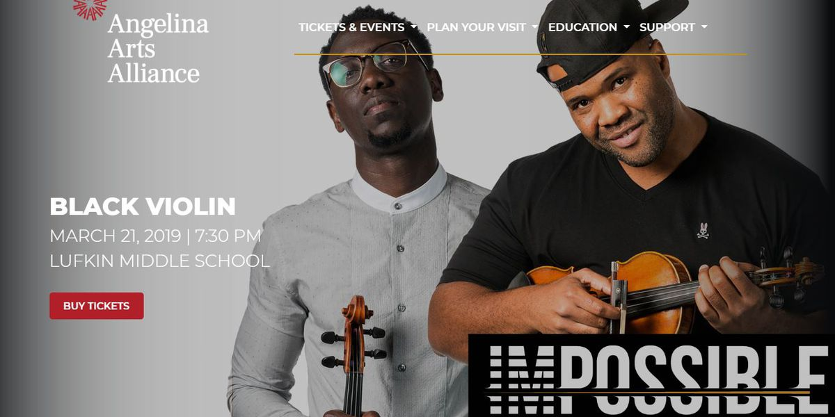 WATCH LIVE: Violin group who performed with Kanye West, Aerosmith to hold show in Lufkin