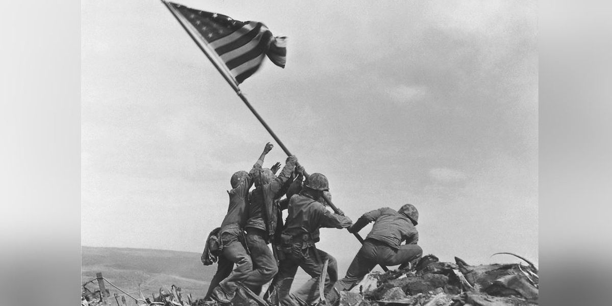 Sunday marks 75 years since US Marines raised American flag over Iwo Jima