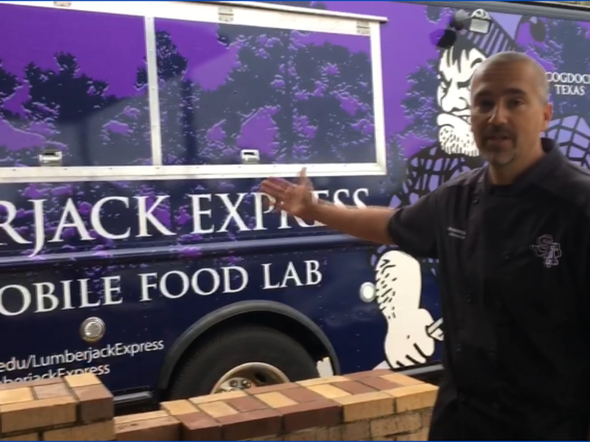 Lumberjack Express mobile food lab gives SFA students lesson in culinary industry