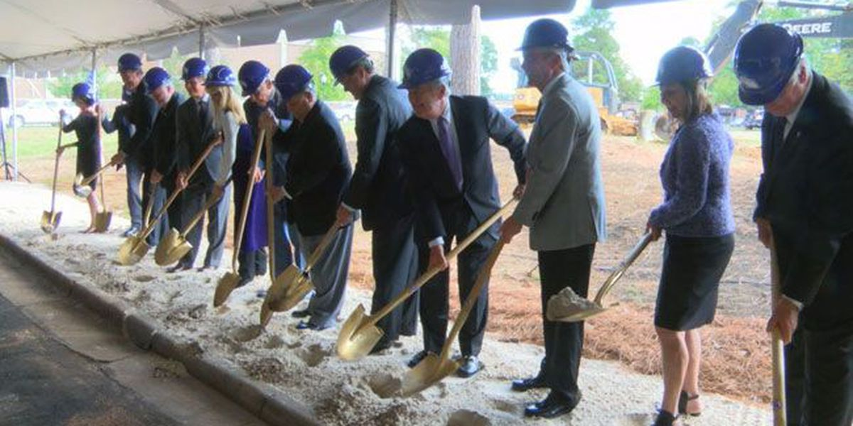 SFA breaks ground for new Ed and Gwen Cole STEM Building
