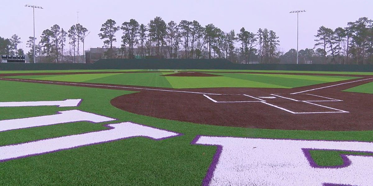 Construction moving along for new Lufkin ISD baseball/softball complex