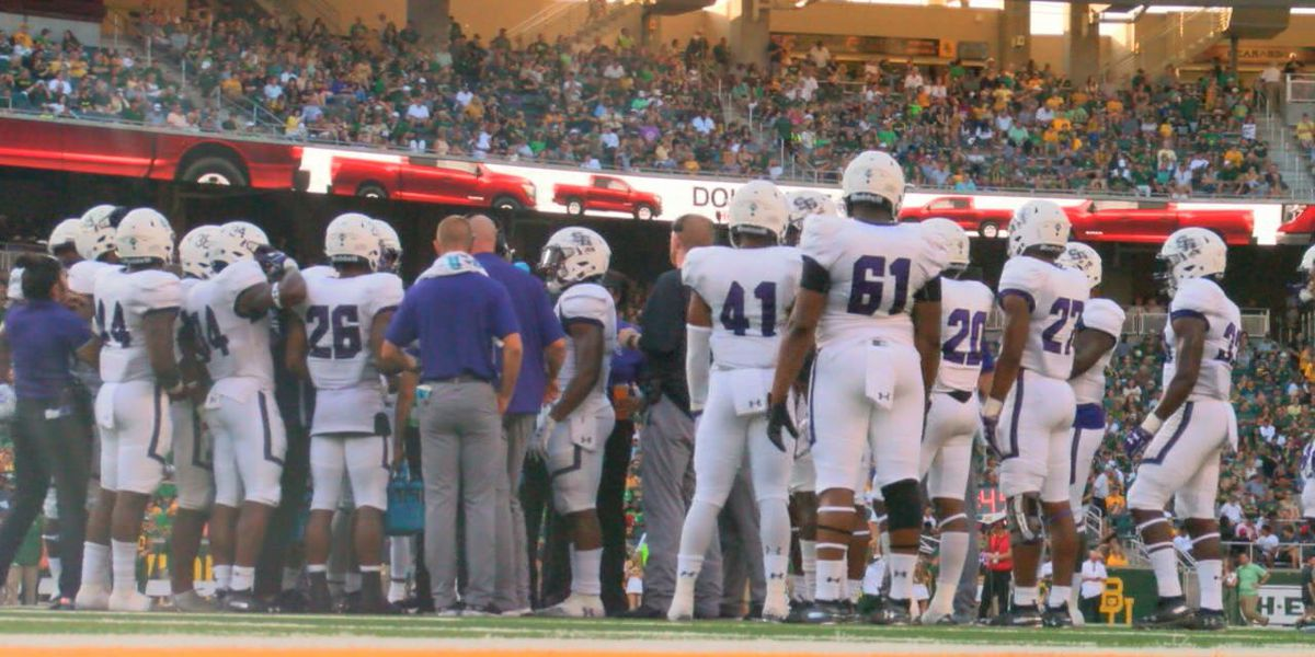 Baylor too strong for 'Jacks in season opener