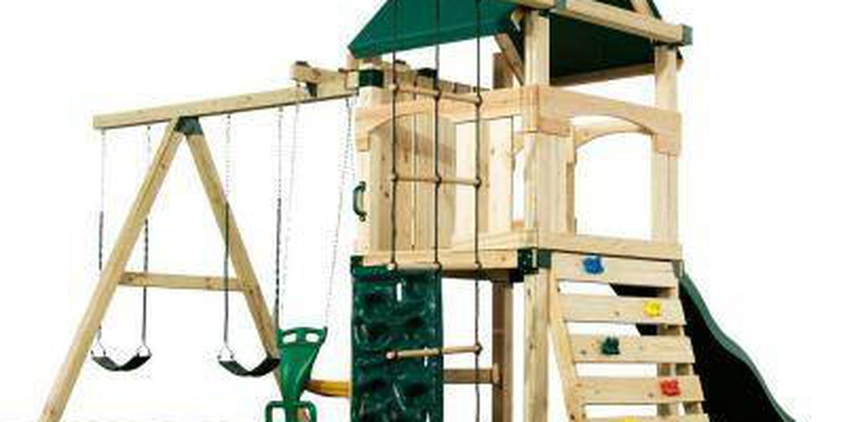 Trinity's Diamond Contracting will give away a playground set for Christmas