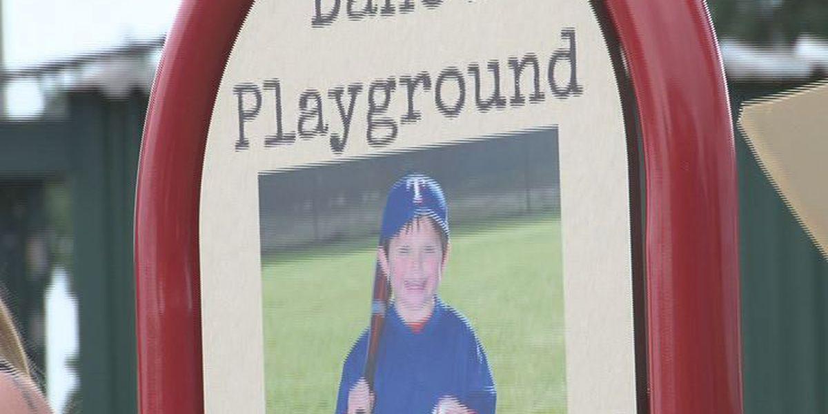 Nacogdoches family donates playground to remember son