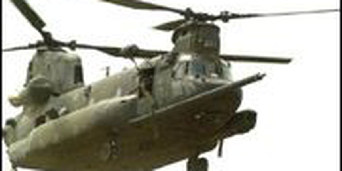 Texas Army National Guard wows Central Heights students with Chinook helicopter