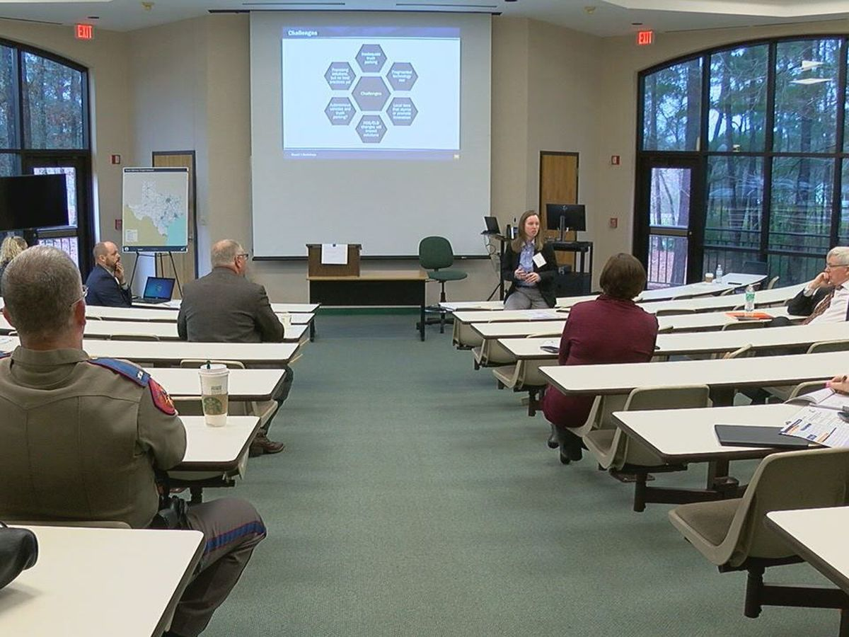 TxDOT hosts state-wide truck parking workshop at Angelina College