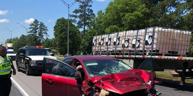 TRAFFIC ALERT: Crews responding to major accident on Highway 59 in Diboll