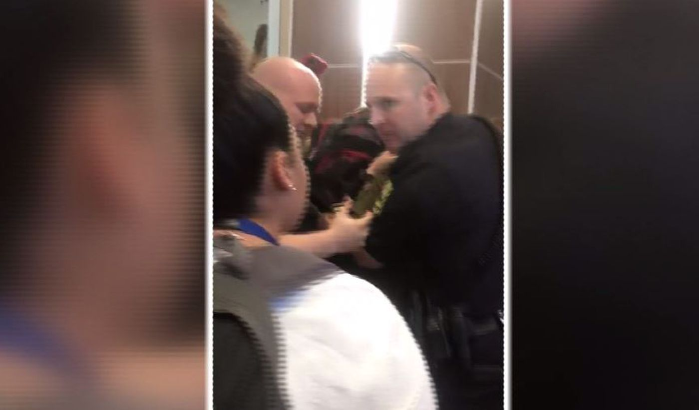 Student knocked out in AL school brawl involving parent, police