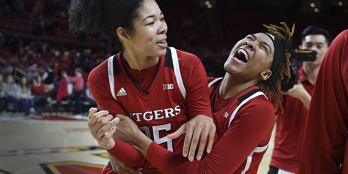 Dominant rebounding leads Rutgers to upset of No. 4 Maryland