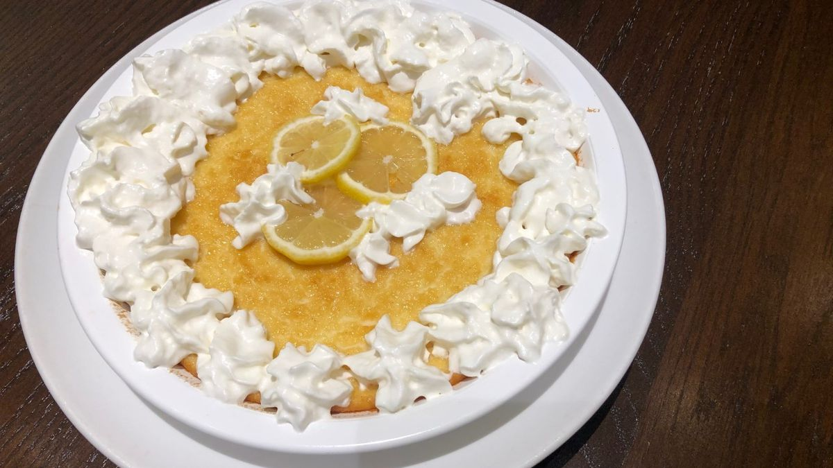 Lemon impossible pie by Mama Steph