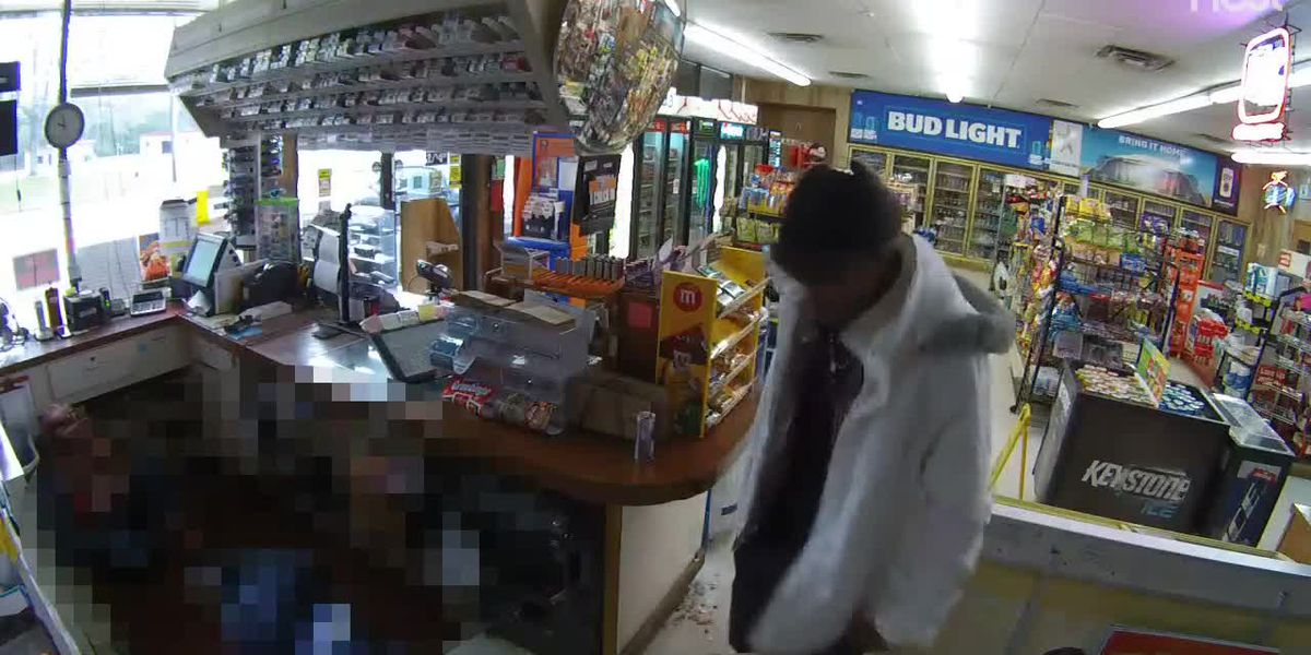 Police arrest suspect in armed robbery accused of duct-taping clerk, setting customer on fire
