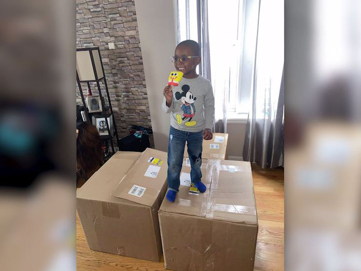 Boy, 4, secretly orders more than $2,600 in SpongeBob popsicles from Amazon