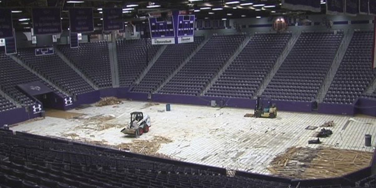 William R. Johnson court gutted for first time in basketball history