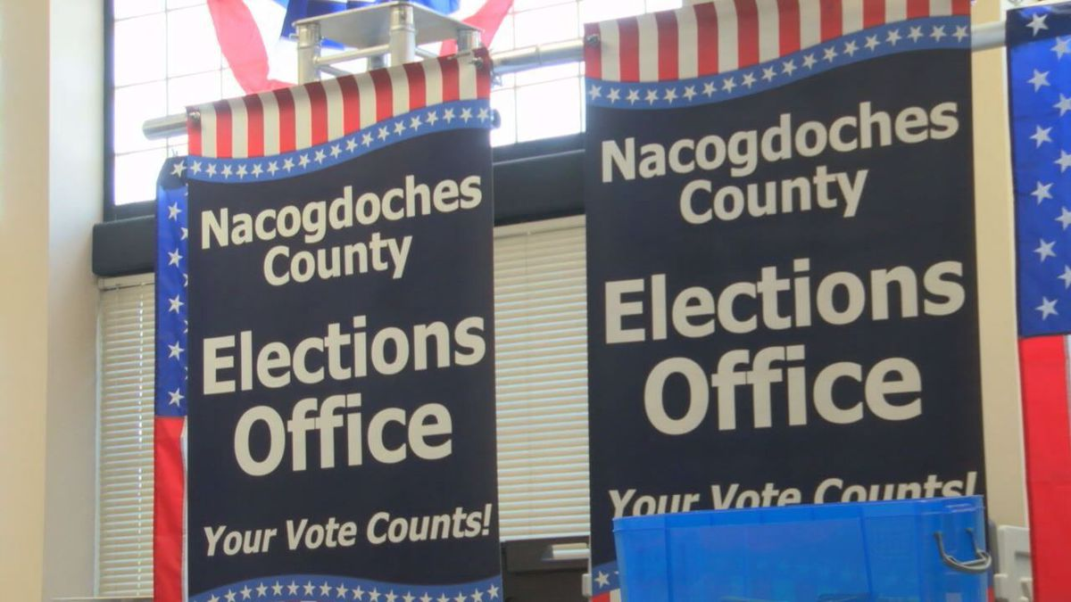 Early Bird Branch Voting Opportunity Day in Nacogdoches