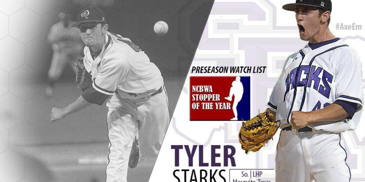 Starks placed on NCBWA 2017 Stopper of the Year Preseason Watch List