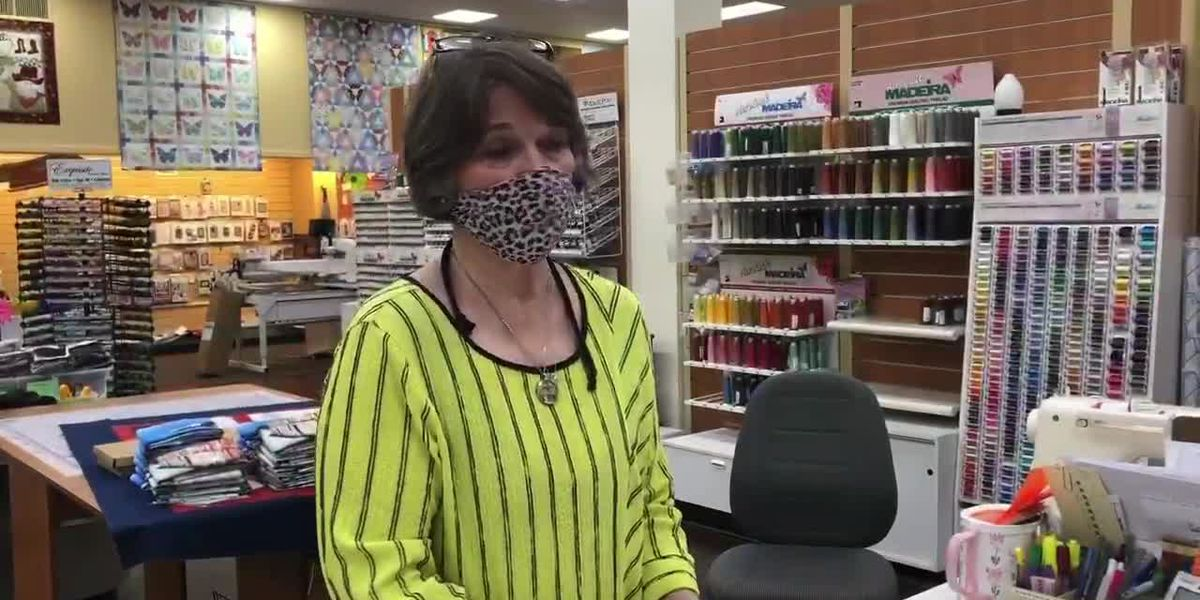 WATCH: Anissa Centers says mask makers descending upon East Texas sewing stores for fashion upgrades