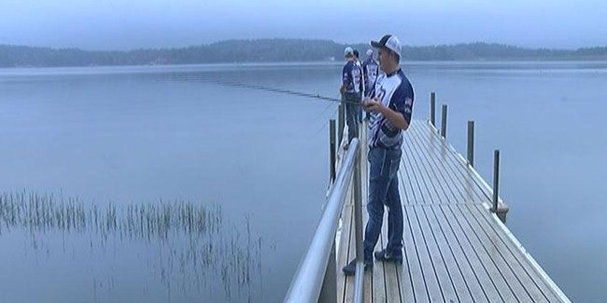 Douglass High School Fishing Team making big splash at tournaments