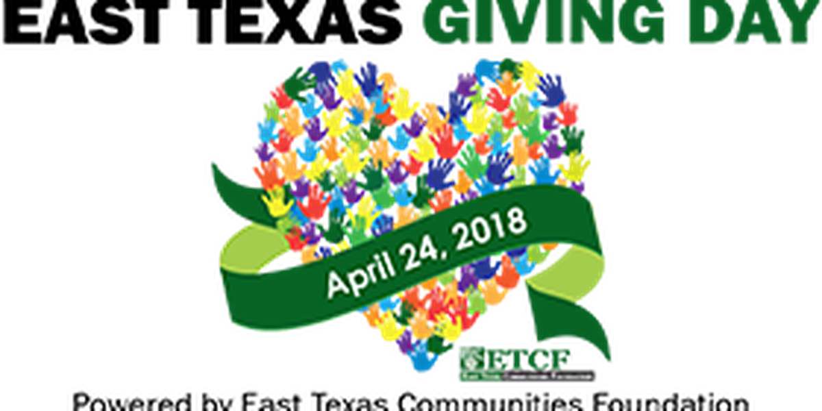 DONATE: 2018 East Texas Giving Day